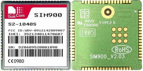 Внешний вид модуля GSM SIM900